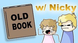 Скачать Reading An Old Book I Made W Nicky