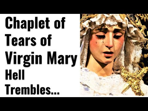Chaplet of Tears of Mother Mary, Protection in Spiritual Battles, Defender