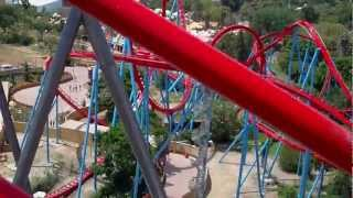 PortAventura Порт Авентура - Аттракцион Дракон Хан (Dragon Khan)