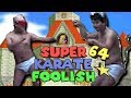 Mario 64 but we're half-naked japanese men fighting each other