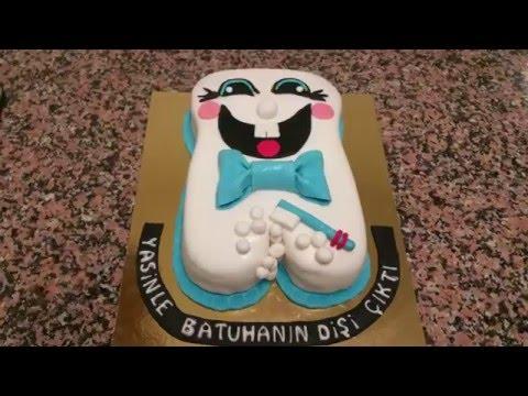 Diş Modelli Pasta Yapımı-Dent Gateau [HD]