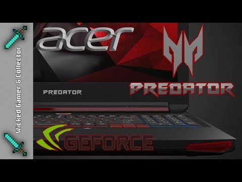 Time to go Predator Mode with Nvidia Acer Intel i7 Gaming Laptop G9-791-71PK / Testing & Wicked Fun