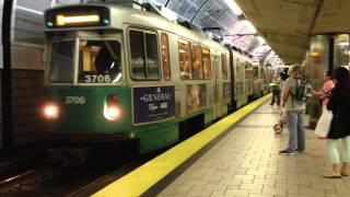 Transit action at Boston