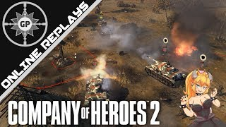 Bowsette vs. Shermans - Company of Heroes 2 Online Replays #307