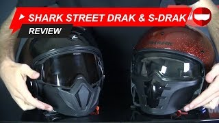 Shark Street Drak and S-Drak Review - ChampionHelmets.com