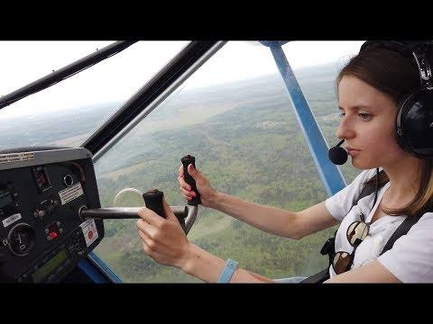 Выходные на аэродроме. Пилот выходного дня. Полеты на самолетах Аэропракт A-22 и Piper Seneca III.