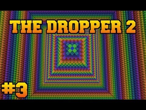 Minecraft: The Dropper 2 - Part 3 - Newton Vs. Darwin