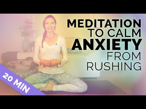 Meditation for Anxiety & Rushing | Create *MORE TIME* w/ thi