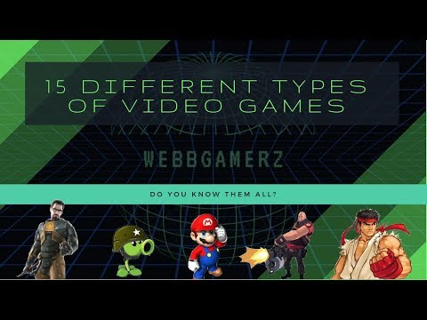 15 Different Types Of Video Games - Do You Know Them All?