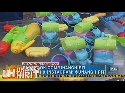 Unang Hirit: Water toys for kids