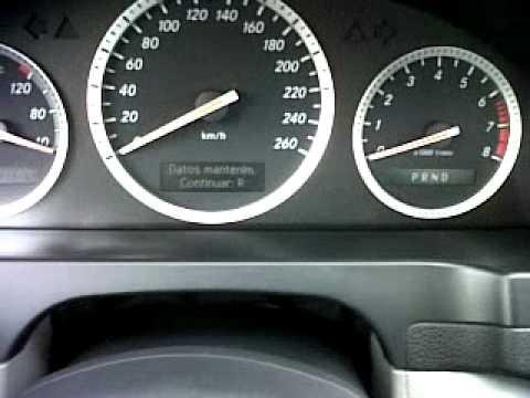Resetear Servicio De Mercedes Benz C280 Classic Volante 4