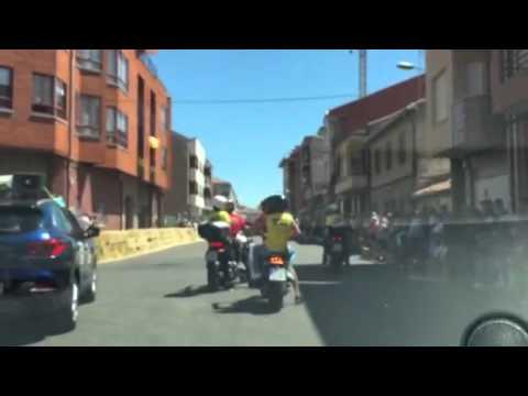Circuito La Bañeza : Vuelta camara onboard circuito la baÑeza spain youtube