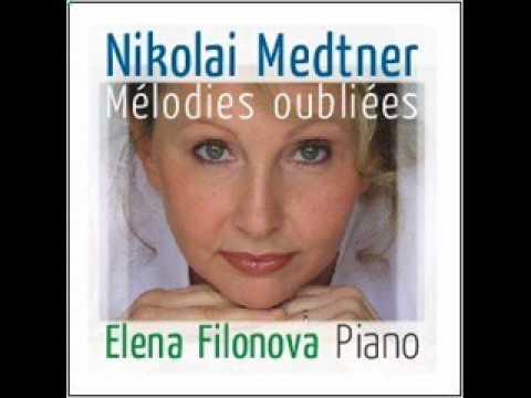"Elena Filonova plays Nikolaï Medtner Arabesques Op.7 n°1 ""Idyll"""