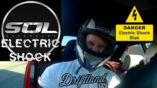 Supercars Of London SOL Electric Shock Drifting - A shocking introduction to Driftland