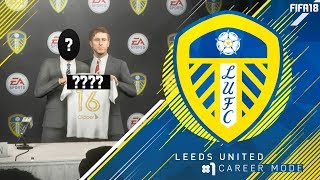 Our first signing! - fifa 18 leeds united career mode #1