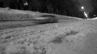 Midnight Getaway on Mitsubishi Lancer Evo X