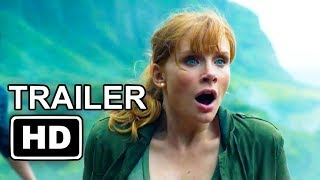 Jurassic World 2  Fallen Kingdom 2018 movieFirst Look Trailer   Chris Pratt, Bryce Dallas Howard720p