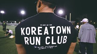 1600 Meter Ladder with Koreatown Run Club | Half Marathon Marathon Workout