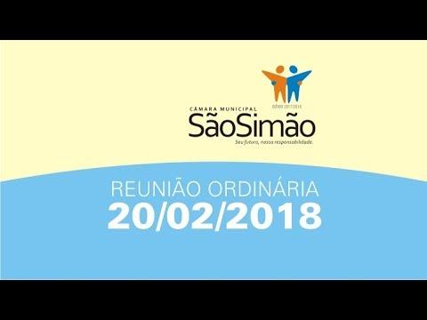 REUNIAO ORDINARIA 20/02/2018