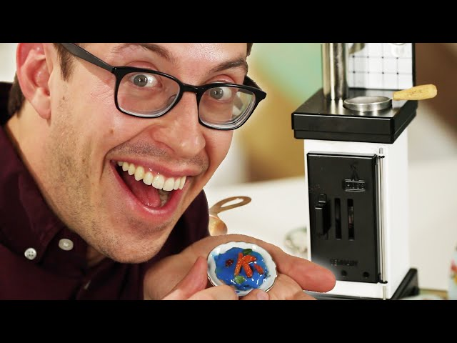People Try Tiny Baking