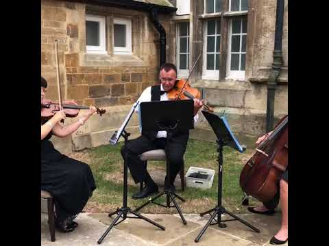 Ariella String Trio LIVE at Rushton Hall, Northamptonshire