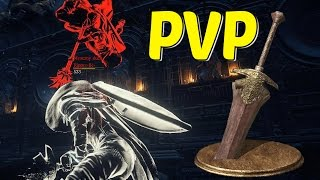 Dark Souls 3 Black Knight Greatsword PVP