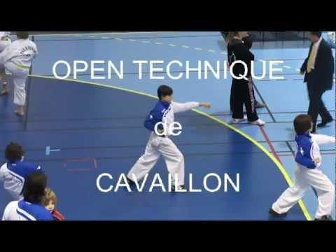 TKD - Open Technique de Cavaillon- 26 fevrier 2012 - MIIMES - Ceinture rouge.mpeg