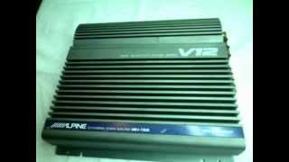 Alpine MRV-T500 V12 Amplifier Old School amplificador