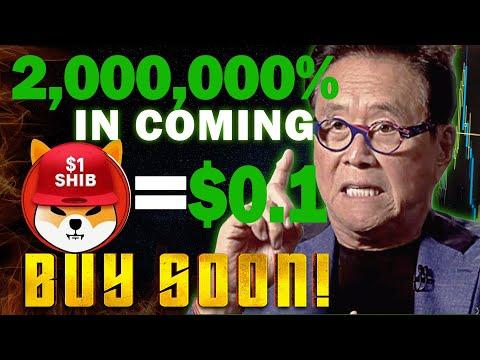 Robert Kiyosaki Announced Shiba Inu Coin Price Will Skyrocket To $0.01 Soon!!