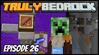 AFK Fisher And Auto Chicken Cooker! - Truly Bedrock (Minecraft Survival Let's Play) Episode 26