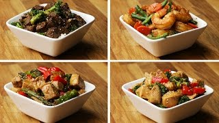 One-Pan Stir-Fry 4 Ways by : Tasty