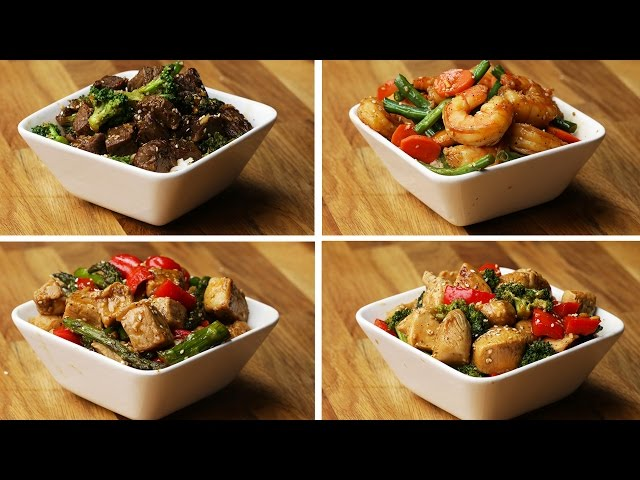 One-Pan Stir-Fry 4 Ways