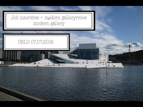 Job interview + modern gallery | Oslo