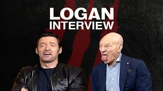 An Honest Interview with Hugh Jackman and Patrick Stewart | LOGAN