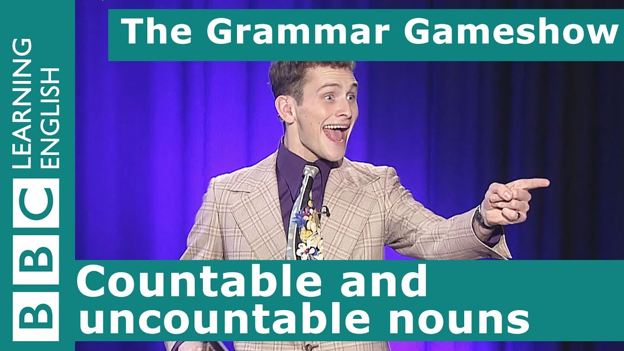 Download Countable and uncountable nouns: The Grammar Gameshow Episode 27