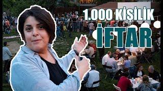 1000 Kişilik Dev İftar Sofrası l Ramazan'ın Bereketiyle Hep Birlikte