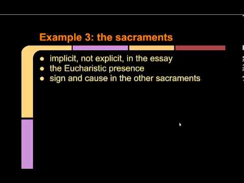Karl Rahner's Theology of the Symbol - Sacraments and Worship lecture 4