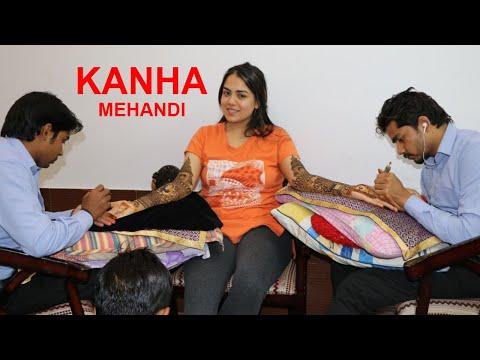 बहुत सुंदर और आसान इंडियन ट्रेडिशनल मेहंदी डिजाइन By Kanha Mehandi Art