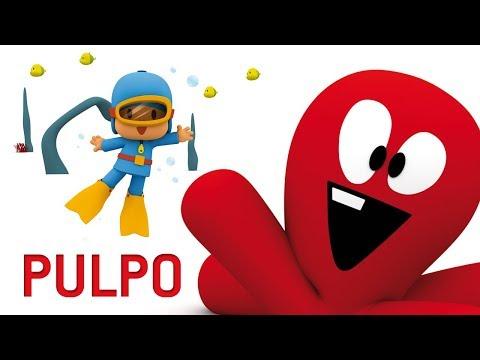 Pocoyo - El pack de PULPO | 60 minutos con nuestro amigo Pulpo y Pocoyo