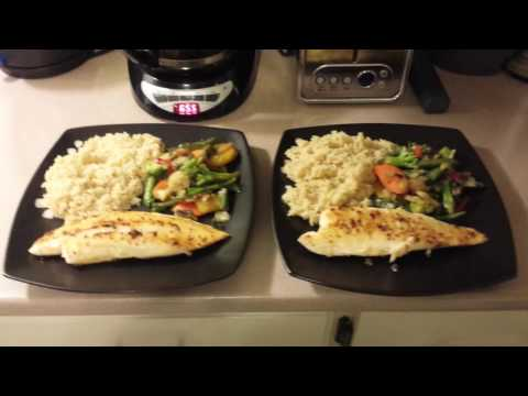 What I Ate For Dinner - Simple Bodybuilding Meal