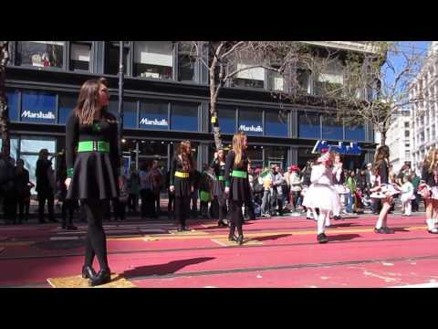 San Francisco St. Patrick's Day Parade 2017 Kennelly School of Irish Dance