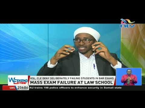 Concerns rife as over 80% of students fail Kenya School of Law exams