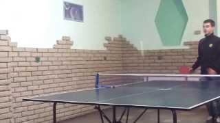 Новый способ игры в теннис))
