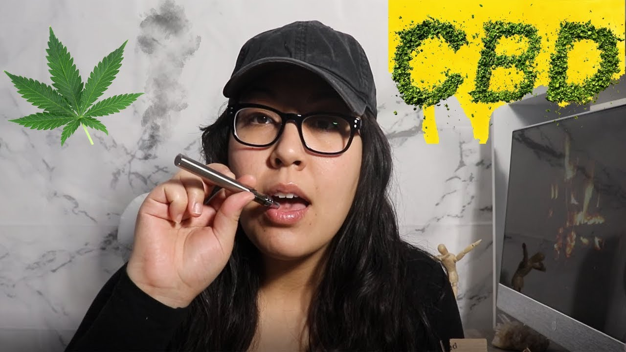 I Tried CBD Oil Vape Pen For The First Time!