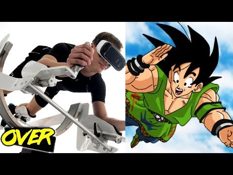 5 INCREIBLES VIDEOJUEGOS Dragon Ball de REALIDAD VIRTUAL / Play Over 2.0