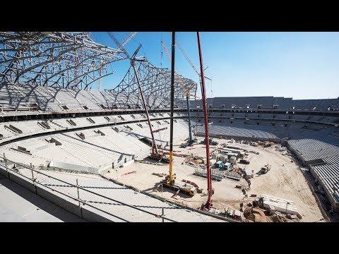 Al Bayt Stadium – Al Khor City Progress – March 2018