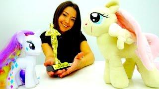 Конкурс для Пони Рарити, Флатершай и Эплджек. Видео для девочек