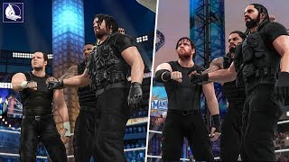 A Visual History of THE SHIELD In WWE Games! (2013 - 2018) 🎮