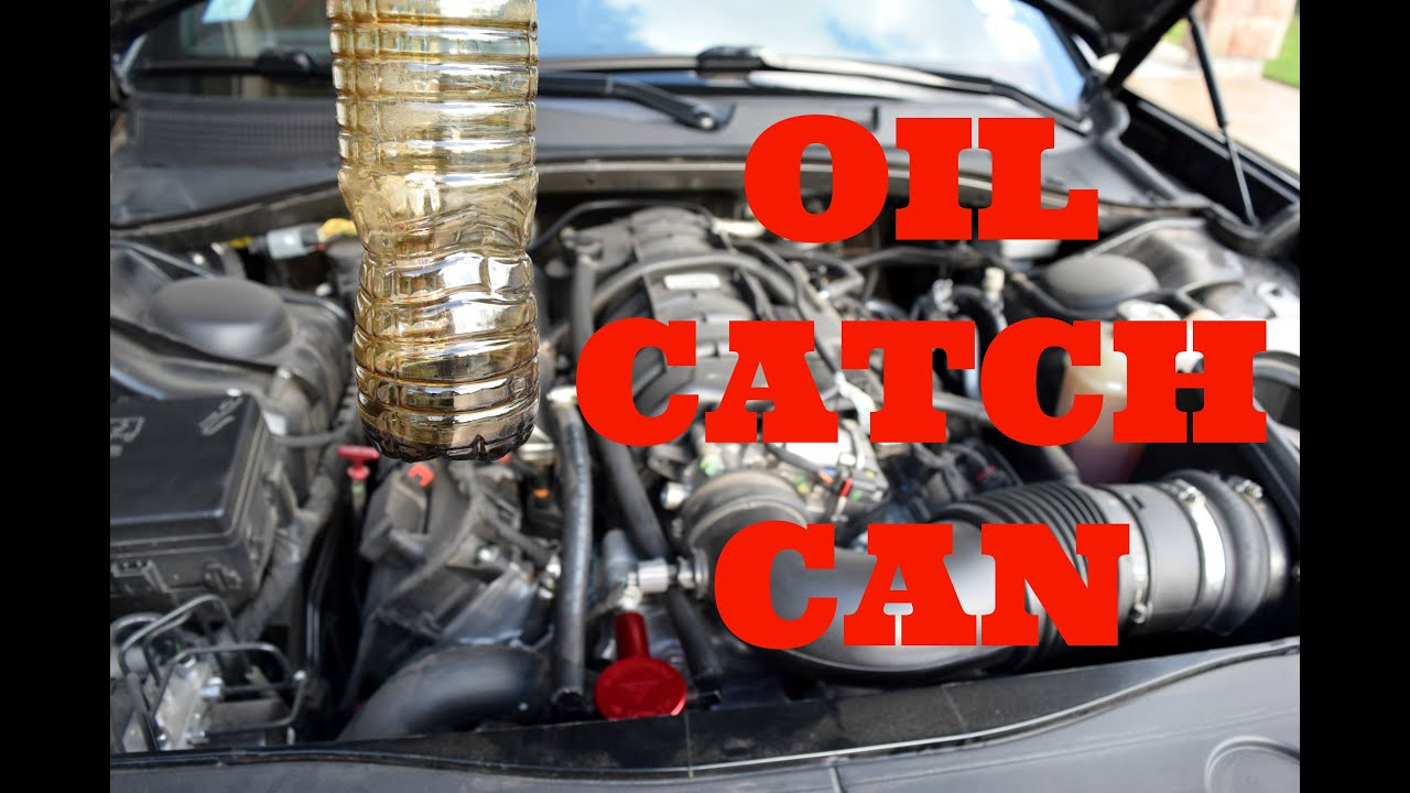 Oil Catch Can Benefits! Dodge Charger R/T [Billet ...