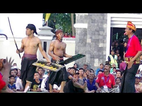 Tradisi Peresean Sasak Lombok Di Balai Budaya Narmada Lombok Barat__PART 3